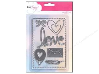 Dies Love & Romance: American Crafts Dies 8 pc. Dear Lizzy Daydreamer