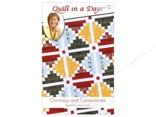 Quilt in a Day $4 - $8: Quilt In A Day Chimneys and Cornerstones Pattern