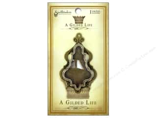 Charms Spellbinders Bezel: Spellbinders Bezel Gilded Life Chandelier Large Antique Gold