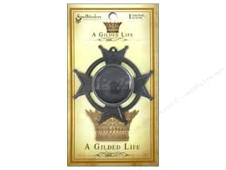 Spellbinders Bezel Gilded Life Iron Cross Large AS