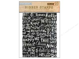 BasicGrey Rubber Stamp Highline Chalkboard Backgrnd