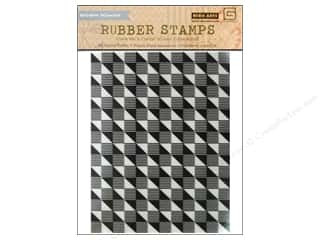 BasicGrey Rubber Stamp Highline Geometric Background