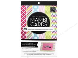 MAMBI Cards In An Instant A6 Brights