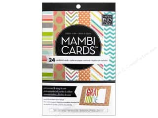 Envelopes Designer Papers & Cardstock: Me & My Big Ideas Cards In An Instant A6 Designer Colors