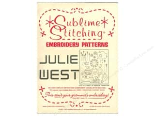 Yarn & Needlework New: Sublime Stitching Embroidery Transfers Julie West