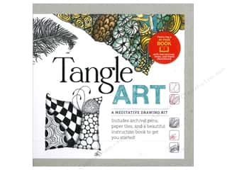 Tangle Art A Meditative Drawing Kit With Book