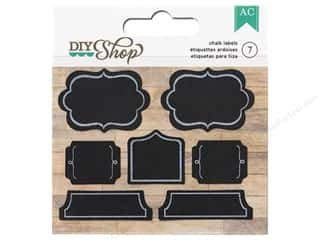 American Crafts Stickers: American Crafts Stickers DIY Shop Chalkboard Labels