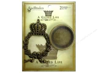 Spellbinders Pendant Gilded Life Regal Wreath AG