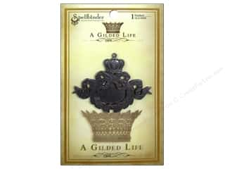 Wreaths Clearance Crafts: Spellbinders Pendant Gilded Life Ribbon Wreath Antique Silver