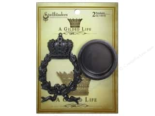 Spellbinders Pendant Gilded Life Regal Wreath AS