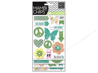 MAMBI Sticker Chipboard Chips You Are Awesome
