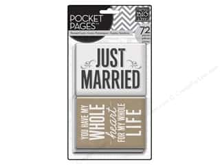 MAMBI Pocket Pages Cards Wedding