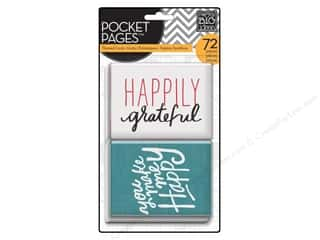 Mother's Day Gift Ideas Note Cards: Me & My Big Ideas Pocket Pages Cards I Love Life
