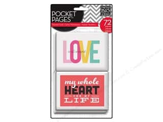 Me & My Big Ideas MAMBI Pocket Pages Cards: Me & My Big Ideas Pocket Pages Cards Love