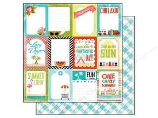 Carta Bella 12 x 12 in. Paper Summer Lovin' Lazy Day (25 piece)