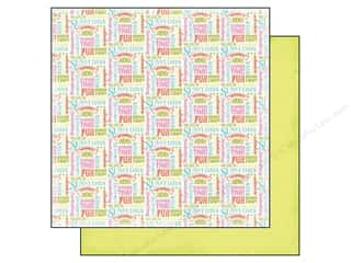 Carta Bella Summer: Carta Bella 12 x 12 in. Paper Summer Lovin' Summer Words (25 pieces)
