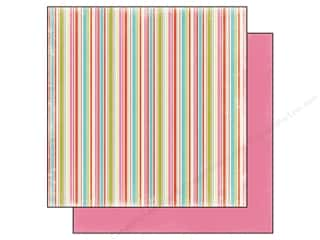 Carta Bella 12 x 12 in. Paper Summer Lovin' Stripes (25 piece)