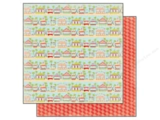 Summer Hot: Carta Bella 12 x 12 in. Paper Summer Lovin' Boardwalk (25 sheets)