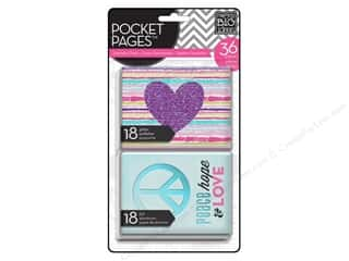MAMBI Pocket Pages Cards Specialty Tween Purple Heart