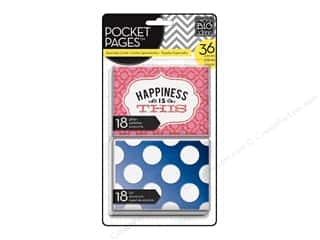 Clearance MAMBI Envelopes: Me & My Big Ideas Pocket Pages Cards Specialty Happiness Is This
