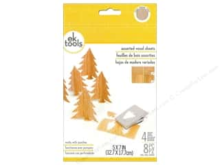 "EK Sheets 5""x 7"" Wood Thin"