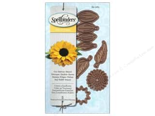 Flowers $0 - $3: Spellbinders Die D Lites Create A Sunflower