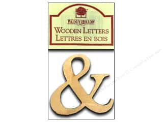 "Walnut Hollow Wood: Walnut Hollow Wood Ampersand 1.5"" Plywood 2pc"