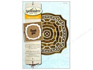Tools $0 - $4: Spellbinders Die Enhancebilities Gold Labels 34