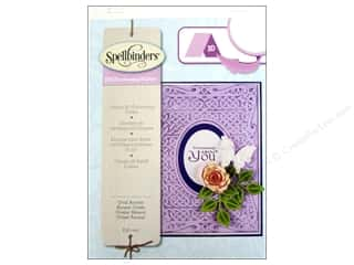 Spellbinders Embossing Aids: Spellbinders Embossing Folder M Bossabilities 3D Accent Oval