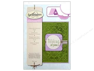 Sculpting Tools: Spellbinders Embossing Folder M Bossabilities 3D European Tapestry