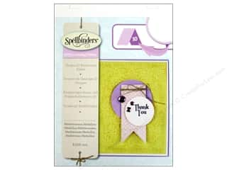 Sculpting Tools: Spellbinders Embossing Folder M Bossabilities 3D Mediterranean Medallion