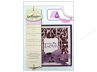 "Embossing Aids 4"": Spellbinders Embossing Folder M Bossabilities 3D Ornate Labels 1"