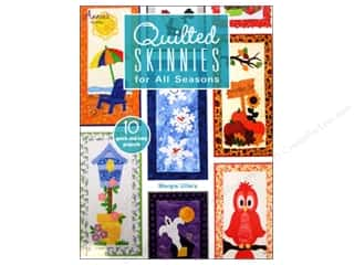 Holiday Gift Ideas Sale Quilting: Quilted Skinnies For All Seasons Book