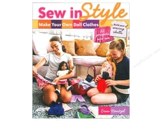 Sew In Style Make Your Own Doll Clothes Book