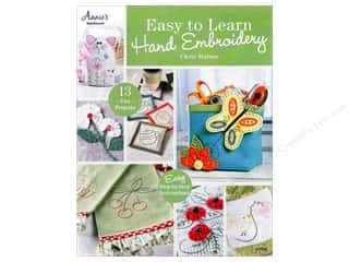 Book-Needlework: Easy To Learn Hand Embroidery Book