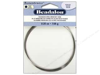Beadalon Memory Wire Necklace .25 oz. Bright