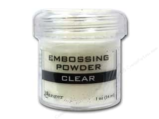 Embossing Aids Clear: Ranger Embossing Powder 1oz Clear
