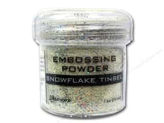 Rubber Stamping Embossing Aids: Ranger Embossing Powder 1oz Tinsel Snowflake