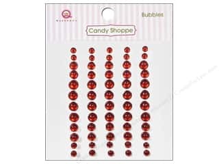 Rhinestones paper dimensions: Queen&Co Sticker Candy Bubbles Red