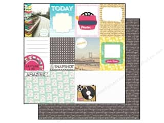 Echo Park 12 x 12 in. Paper Capture Life Journal Cards (25 piece)