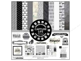 Echo Park Collection Kit Capture Life B/W 12x12