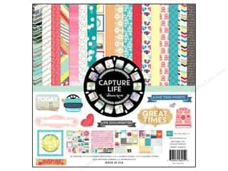 Echo Park 12 x 12 in. Capture Life Color Collection Kit