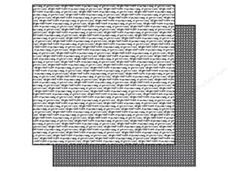Echo Park 12 x 12 in. Paper Black & White Love Script (25 piece)