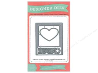 Dies Hearts: Echo Park Designer Dies Photo Card Heart & Create