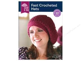 CraftTree Fast Crocheted Hats Book