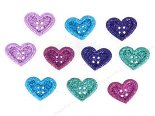 Jesse James Embellishments Large Hearts