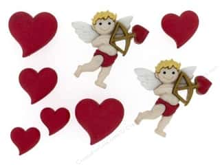Love & Romance Craft & Hobbies: Jesse James Dress It Up Embellishments Cupids Arrow