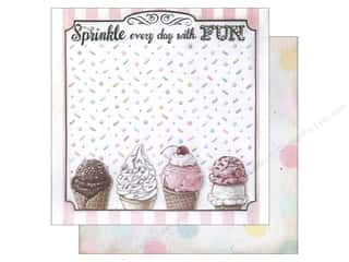 "Melissa Frances Frames: Melissa Frances Paper Sweet Life 12""x 12"" Sprinkle Everyday (25 pieces)"