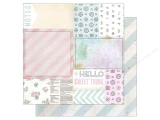 "Melissa Frances Captions: Melissa Frances Paper Sweet Life 12""x 12"" Bits & Pieces (25 pieces)"