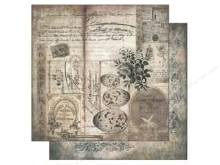 "Melissa Frances Captions: Melissa Frances Paper Glamour & Grunge 12""x 12"" Nature Study (25 pieces)"